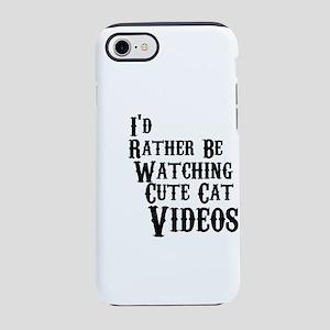 CUTE CAT VIDEOS iPhone 7 Tough Case