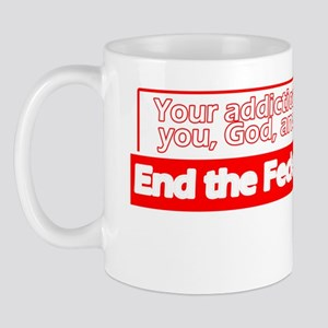 End-the-Drug-War-Dark-Shirt Mug