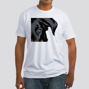 Beauceron Graphic Fitted T-Shirt