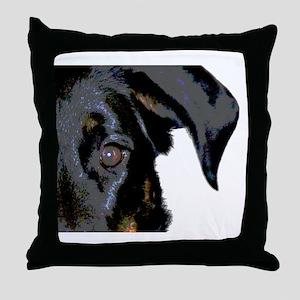 Beauceron Graphic Throw Pillow