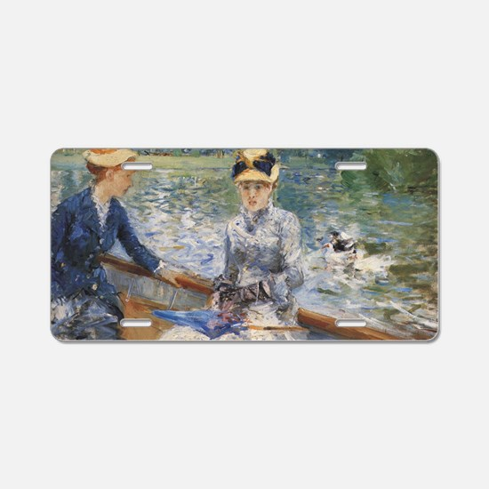renoir boats Aluminum License Plate