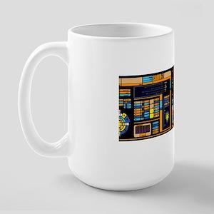 com panel 1 Large Mug