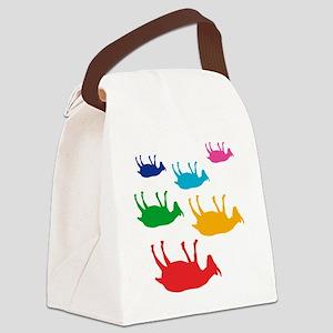 fainting goat_goats_multi Canvas Lunch Bag