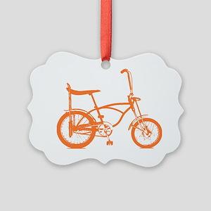 orange krate Picture Ornament