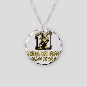CHS_Custom_BW13 Necklace Circle Charm