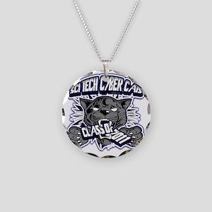 SCITECH_Custom_BW10 Necklace Circle Charm