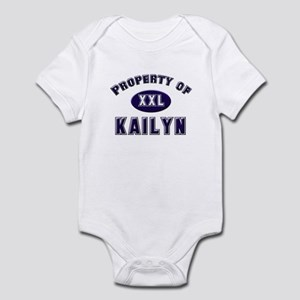Property of kailyn Infant Bodysuit