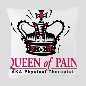 queenofpain Woven Throw Pillow