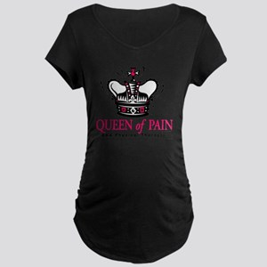 queenofpain Maternity Dark T-Shirt