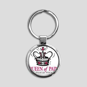 queenofpain Round Keychain