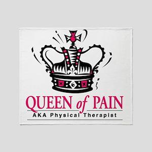 queenofpain Throw Blanket
