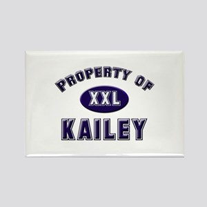 Property of kailey Rectangle Magnet