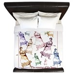 Jane Austen King Duvet