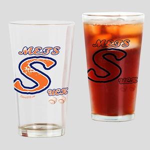 mets_suck Drinking Glass