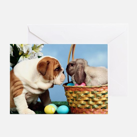 BD Easter post Greeting Card