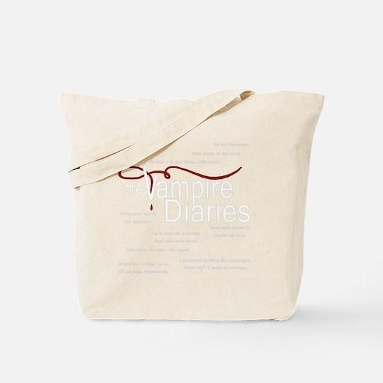 vamp quotes Tote Bag