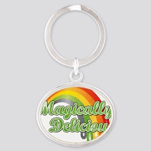 Magically Oval Keychain