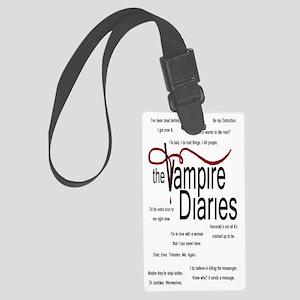 vamp bottle Large Luggage Tag