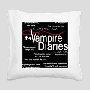 vamp pillow Square Canvas Pillow
