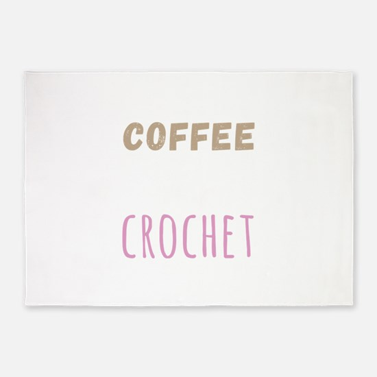 Crochet 5'x7'Area Rug