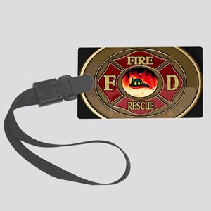 fire_1_large Large Luggage Tag