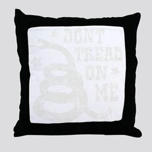 Tread - dk Throw Pillow