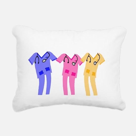 Scrub Diva Rectangular Canvas Pillow