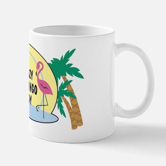 Crazy Flamingo Lady Mug