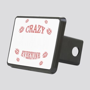 CRAZY MAMAW Rectangular Hitch Cover