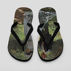"Bazille and Camille (Study for ""De´jeun Flip Flops"
