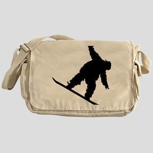 snowboarderB01 Messenger Bag