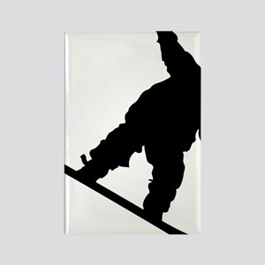 snowboarderB01 Rectangle Magnet