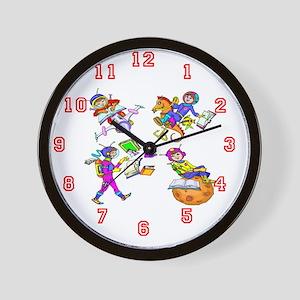 Adventure Boy Wall Clock