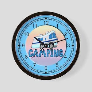 camping wallclock Wall Clock