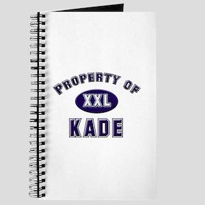 Property of kade Journal