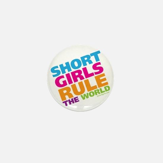 shortgirls_shirt Mini Button