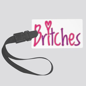 britches_shirt1 Large Luggage Tag