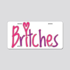 britches_shirt1 Aluminum License Plate