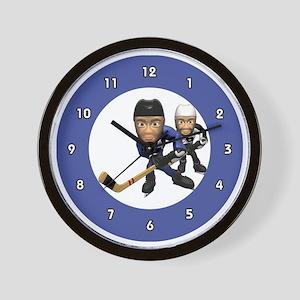 hockeywallclock Wall Clock