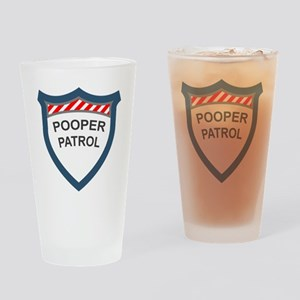pooperpatrol-pocket-transparent Drinking Glass