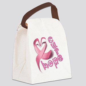 love_hope_cure_1 Canvas Lunch Bag