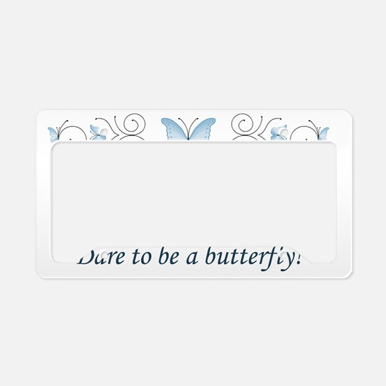 Butterfly Challenge! License Plate Holder