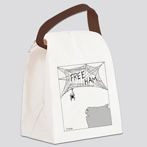 Free Ham - no text Canvas Lunch Bag