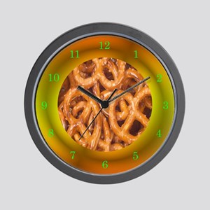pretzels  Wall Clock