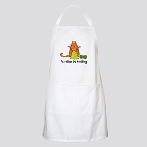 Rather be knitting BBQ Apron