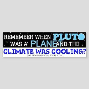 Remember when Pluto was Bumper Sticker