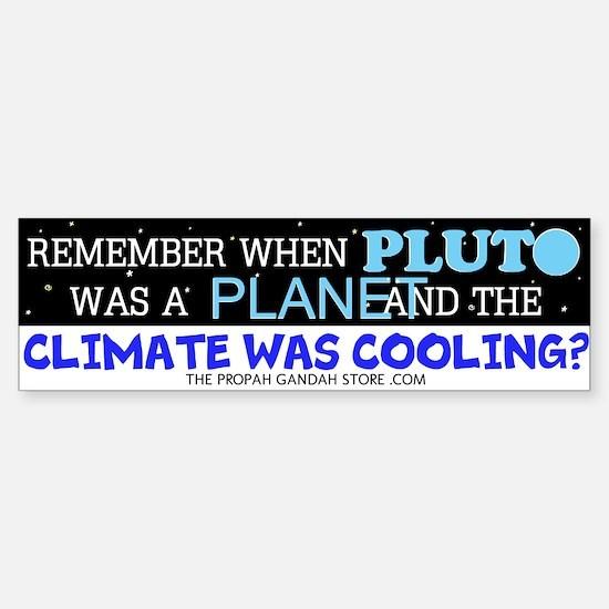 Remember when Pluto was Bumper Bumper Bumper Sticker
