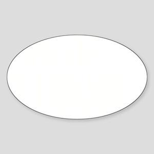 GANGSTA BILLIONNAIRE Sticker (Oval)