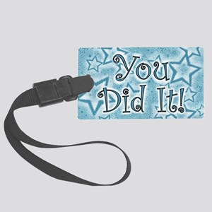 YOU DID IT CARDS Large Luggage Tag