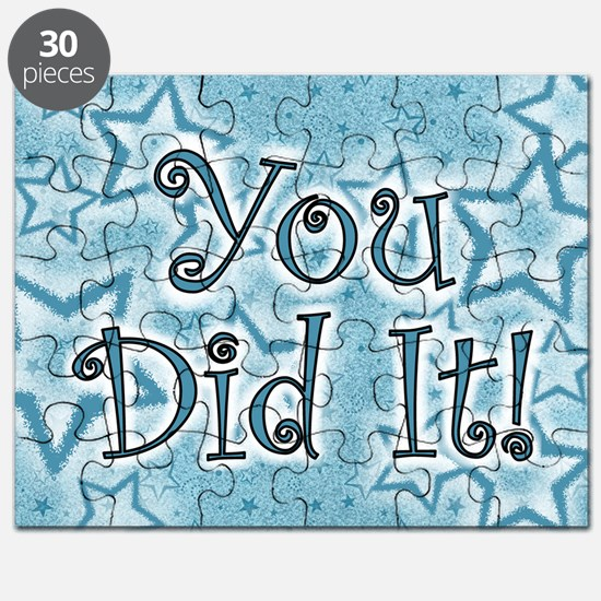 YOU DID IT CARDS Puzzle
